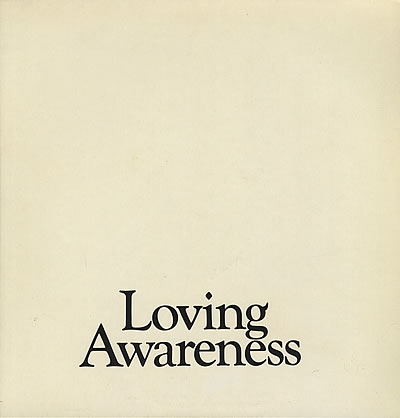 Loving Awareness album cover